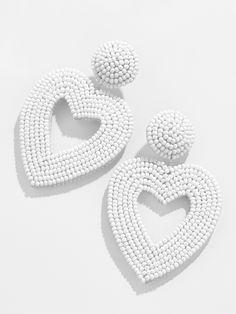 Simple Bead Earrings, Diy Lace Earrings, Tassel Earrings, Soutache Jewelry, Beaded Jewelry, Jewellery, Bead Weaving, Beaded Embroidery, Wedding Accessories