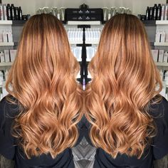 Long Caramel Brown Hair