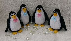 Hand-knitted toy Penguin by DorothyLollipopKnits on Etsy