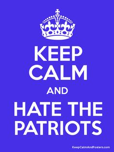 Hater's Guide To The Post Season: The New England Patriots ...