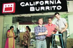 Bringing burritos to India: a trio of friends, including Dharam Khalsa '11, have started the chain California Burrito.