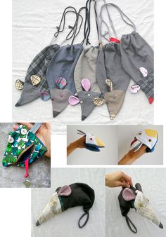 Motivating Ways Button-Up Top Sewing For Kids, Baby Sewing, Animal Bag, Creation Couture, Sewing Class, Fabric Bags, Kids Bags, Cute Bags, Pouch Bag