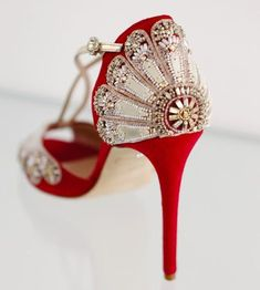 Emmy London S Exquisite Chelsea Bridal Shoe Collection Red Red Wedding Shoes With Crystal Back Design Red Bridal Shoes Etsy […] Red Bridal Shoes, Satin Wedding Shoes, Wedding Boots, Wedding Heels, Bride Shoes, Prom Shoes, Chelsea, Pretty Shoes, Beautiful Shoes