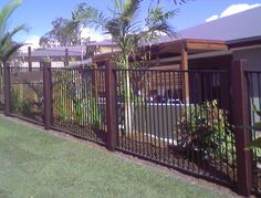 41 Creative Fence Home Decoration Ideas That You Never Seen Before Front Yard Fence, Diy Fence, Pool Fence, Backyard Fences, Fence Ideas, Wood Fence Design, Fence Options, Garden Photos, Design Your Home