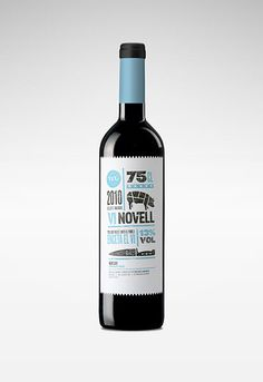 vi novell wine - wine packaging blog - the dieline wine