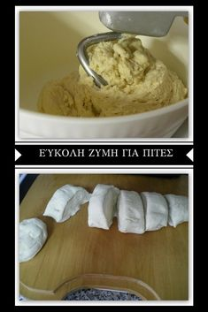 How to Make Easy Homemade Dough for Pastries - Kopiaste.to Greek Hospitality Best Homemade Biscuits, Homemade Pastries, How To Make Dough, How To Make Homemade, Pastry Recipes, Dessert Recipes, Desserts, Greek Pastries, Pastry Cake