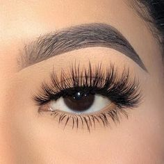 Luxury Faux Mink Lash Lashes are handmade, they will differ slightly in detail from pair to pair. Average Wear: Usages (Depending on care) Comes with 1 pair of lash. Lash Glue NOT included. Perfect Eyelashes, Fake Eyelashes, False Lashes, Eyelash Extensions Styles, Best Lash Extensions, Silk Lashes, Nagel Gel, Free Hair, Synthetic Hair