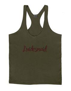 TooLoud Bridesmaid Design - Diamonds - Color Mens String Tank Top