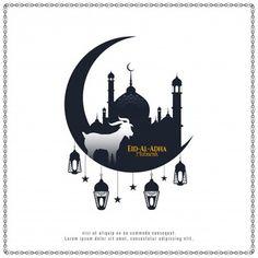 Eid Al Adha Greetings, Eid Mubarak Greeting Cards, Happy Eid Al Adha, Happy Eid Mubarak, Eid Ul Adha Images, Mubarak Images, Adha Card, Eid Adha Mubarak, Holiday Banner