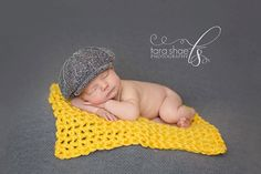 Newborn Photography Photography Hand Crochet Layer Blanket, $18.00