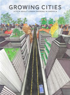 Urban Agriculture Growing Cities, Urban Growing Concepts on pinterest #GRUENGUT