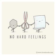 No hard feelings by ilovedoodle http://www.ilovedoodle.com