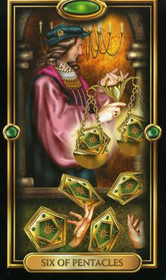 Four of Pentacles Gilded Tarot | of Pentacles