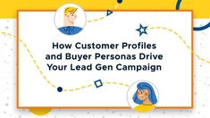 Understand and learn how to create your own ideal customer profiles and buyer personas and find out how these 2 can drive successful lead gen campaigns. Marketing Channel, Direct Marketing, Content Marketing Strategy, Online Marketing, Digital Marketing, Buyer Persona, Marketing Techniques, Lead Generation, Growing Your Business