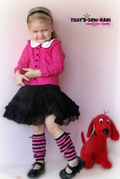 Read Across America- Clifford the Big Red Dog — Pattern Revolution