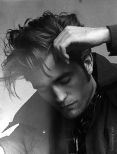 Robert Pattinson photographed by Peter Lindbergh for Dior {PattinsonWorld edit}
