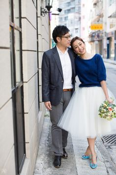 Blue Rendezvous | Engagement Shoot | Classy | Romantic | Whimsical | http://brideandbreakfast.hk/2015/04/20/blue-rendezvous/