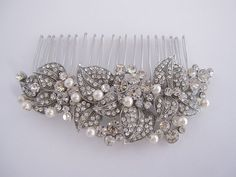 Hey, I found this really awesome Etsy listing at https://www.etsy.com/listing/169244345/vintage-inspired-bridal-hair-combwedding