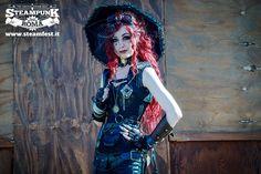 www.steamfest.it #steampunk #beauty #fashion #lady #dieselpunk #roma #steamfest #gothic #festival #burlesque