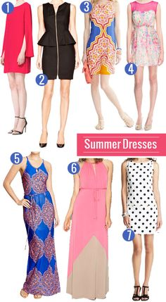 Our Lana Dress made the cut! Favorite Summer Vacation Dresses || PinQue Blog