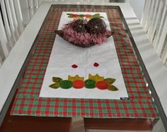 Trilho de mesa - Natal