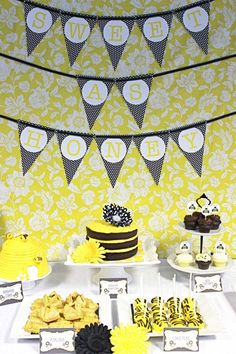 Bumble Bee Baby Theme | TRENDS} My Top 6 Favorite Bumble Bee Baby Showers | Catch My Party