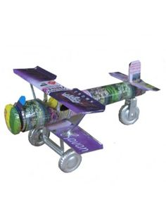Recycled Tin Plane
