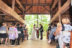 Parsonage Barn, Cranbury, NJ. Ceremony Music performed by Bridal ...