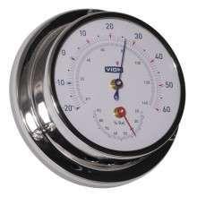 VION skipstermometer/hygrometer, 80mm