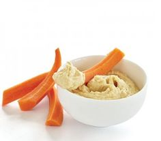 "ENGINE 2 HUMMUS ""This is the most basic of the spreads. You can find a variation of this recipe in almost any grocery store, but 95 percent of them are made with either olive oil or tahini (sesame paste), which pushes up the fat content. Your best bet is to take three minutes and make a batch on Sunday that will last you for the week."""