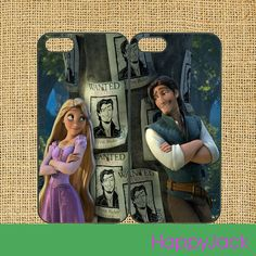 Tangled - iPhone 5 case, iphone 4 case, ipod touch cas, ipod case, samsung galaxy S3 , galaxy S4 case, note 2 case
