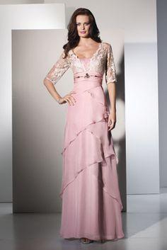 Jean De Lys 29503 Fabric:Silky Chiffon/Lace #timelesstreasure