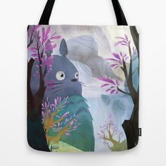TOTORO Tote Bag by Youcoucou - $22.00