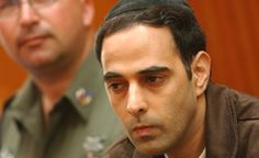 Yigal Amir in court (Flash90)