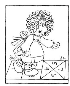 Raggedy Ann Coloring Pages Bing images raggdy ann and andy