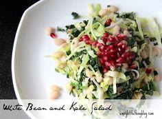 DETOX: White Bean and Kale Salad | everylittlethingblog.com