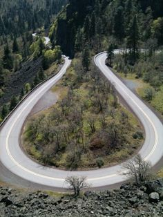 Rowena Loops, Near Mosier, Oregon - not a photographer but is this what you call good composition?