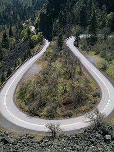 Rowena Loops, Near Mosier, Oregon