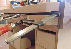 THIRD HAND CLAMPING RAIL - by kiefer @ LumberJocks.com ~ woodworking community