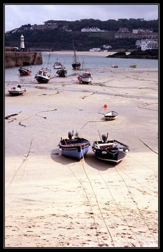 Low tide in St Ives, St Ives, Cornwall, England Copyright: Sophie Lo