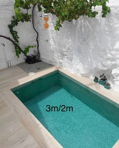 3 2 # # tief - in 2020 Small backyard pools Small pool design Backyard pool designs Pools For Small Yards, Small Swimming Pools, Swimming Pools Backyard, Swimming Pool Designs, Garden Pool, Backyard Landscaping, Garden Bed, Small Backyard Patio, Backyard Patio Designs