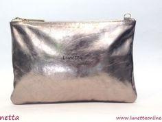Clutch Plomo de Lunetta es el bolso perfecto y original para tus looks | lunettaonline.com