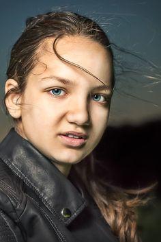 Ines blue eyes by Militaru Alin Cristian on 500px