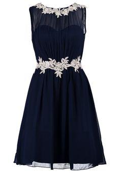 Dieses Kleid beschert dir einen glanzvollen Auftritt. Little Mistress Cocktailkleid / festliches Kleid - navy für 84,95 € (01.12.15) versandkostenfrei bei Zalando bestellen.