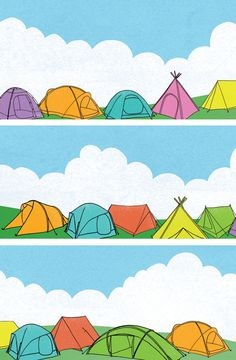 """Mr A Hayes, """"Festival Tent"""""""