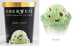 Our mint chip ice cream harmoniously balances the cool, refreshing flavor of peppermint with the perfect proportion of milk chocolate chips--a classic combination sure to exhilarate your senses. Pick some up at your local Oberweis store or place your order at www.oberweis.com and have it delivered right to your door! #oberweisdairy #oberweisdelivers #oberweisicecream #sogood