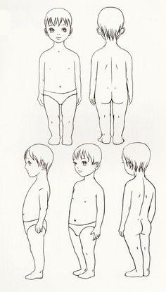 儿童身体比...来自Olivia莯華的图片分享-堆糖