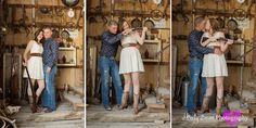 Country Engagements- cute poses for Nelson's landing
