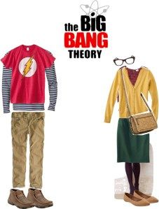 Halloween costume you can pull together in a pinch: Sheldon and Amy from Big Bang Theory