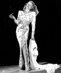 Rita Hayworth, 1946, publicity shot for Gilda